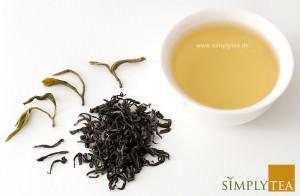 Mogan Huang Ya gul te indholder meget høje mængde af aminosyren L-theanin