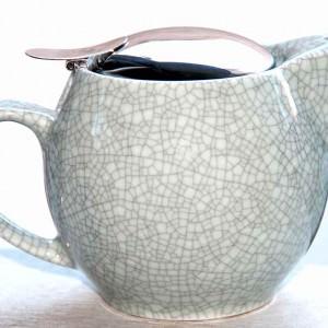 Japansk keramik tekande Blågrøn 450 mltekander til 2-3 kopper