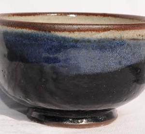 Chawan blå-sort