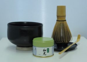 Sort matcha set
