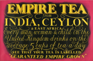 Empire Tea label