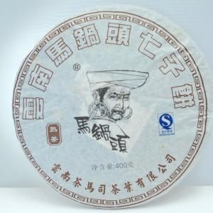 Ma Guo Tou shu puerh Bing 2012