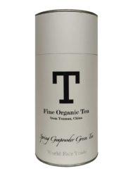Økologisk gunpowder grøn te